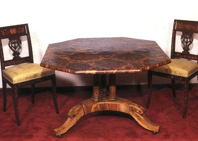 Tavolo in legno d'olivo - Italia inizio '700